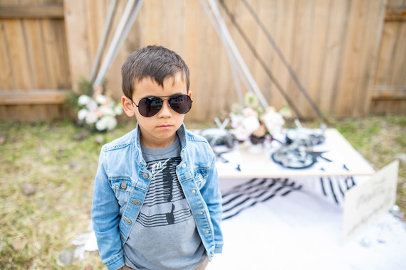 Michael Jackson themed double birthday party