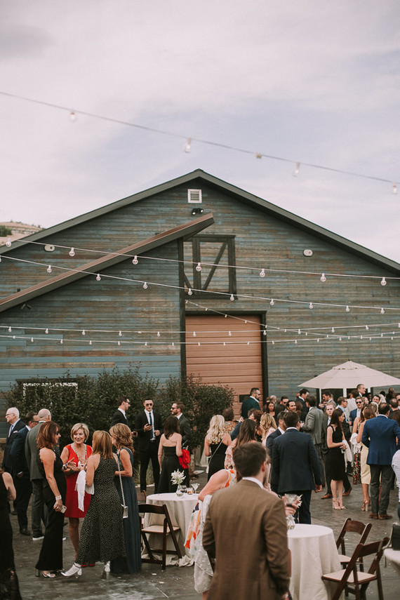Utah barn wedding