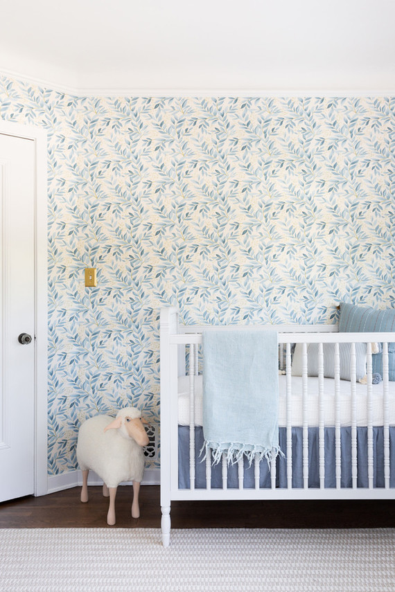 Sophisticated boy's nursery from Lulu & Georgia founder Sara Sugarman Brenner