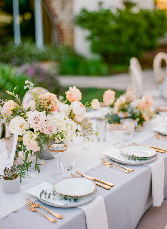 Pastel California wedding with the most thoughtful, stunning details