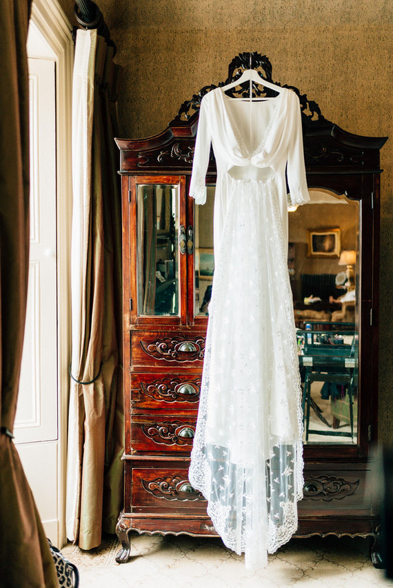 This Scottish wedding in an Irish Castle makes tartan look extra chic