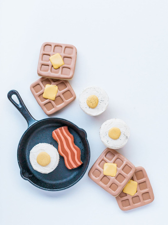 Breakfast themed birthday party for kids