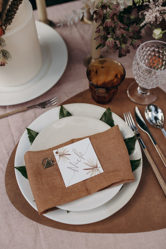 Place setting idea