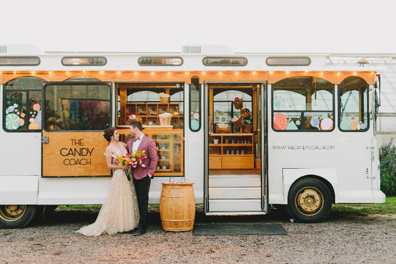 Trolly Car wedding