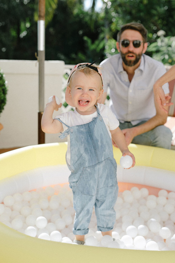 Mamma Mia themed kids birthday party