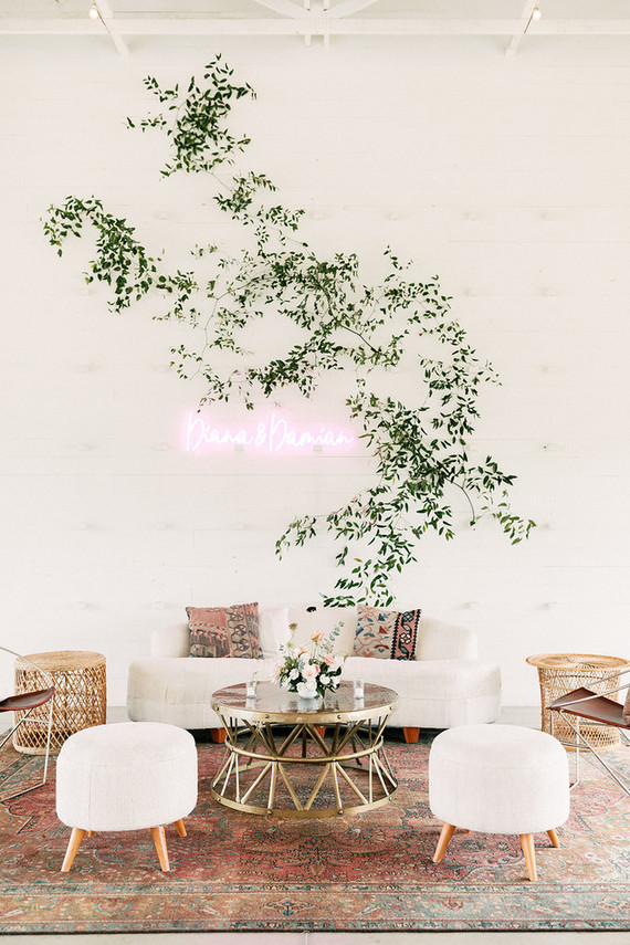 Romantic spring Prospect House wedding