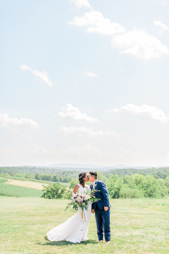 Romantic, rustic DC wedding