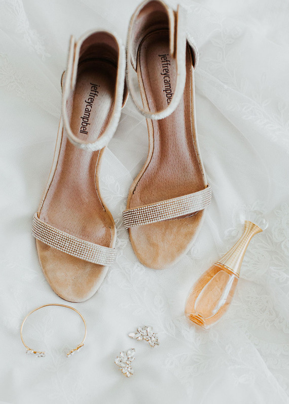 chic wedding details