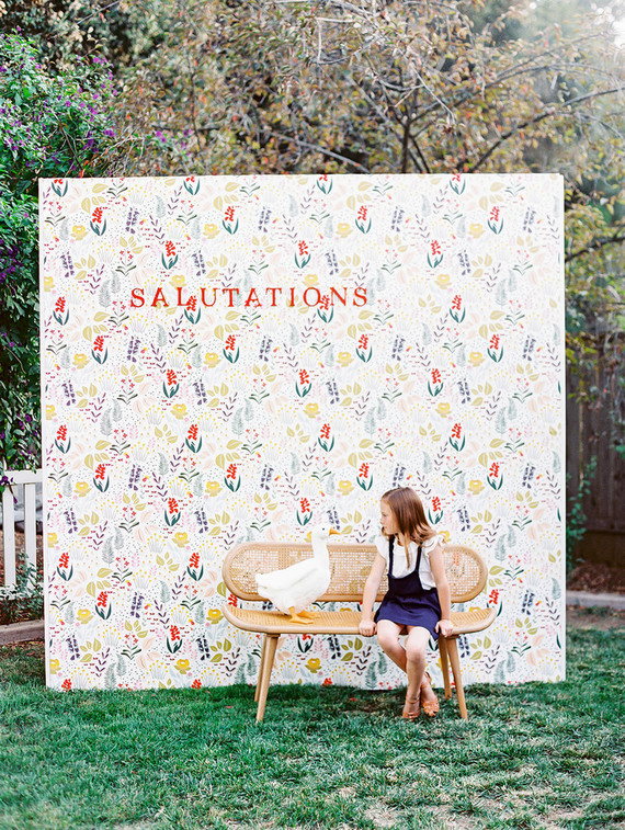 photo backdrop for baby shower