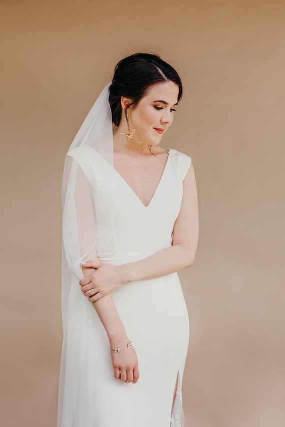 simple, sweet bridal fashion