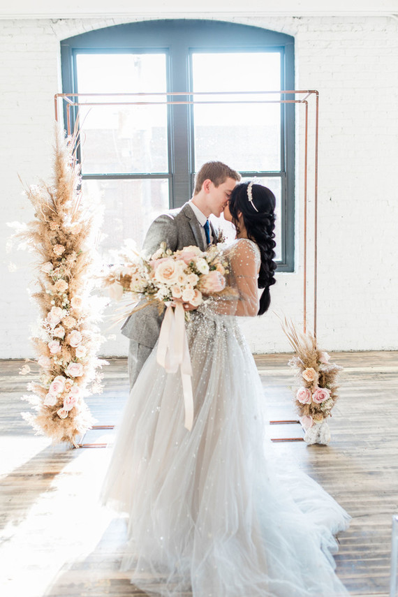 Modern elopement inspiration