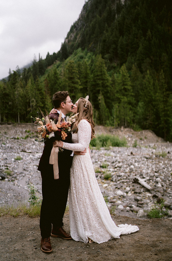 Mount Ranier National Park wedding