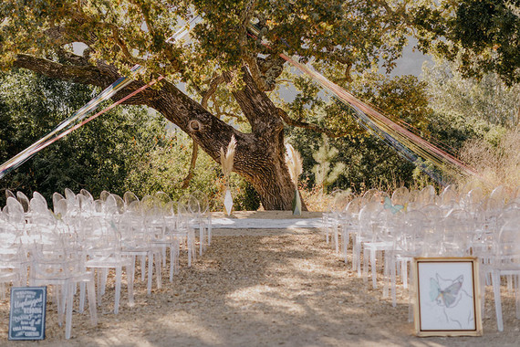 butterfly themed wedding in Carmel Valley