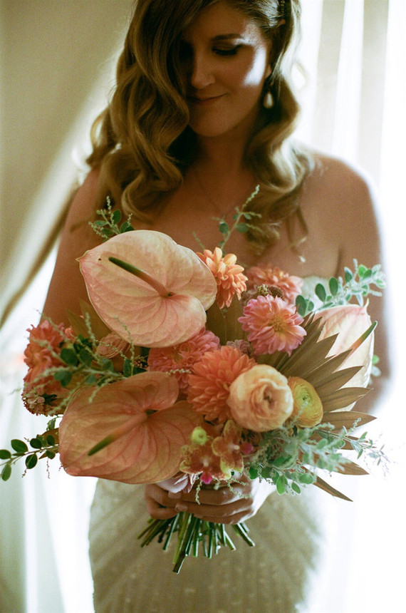 Palm Springs wedding bouquet