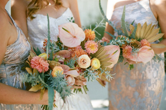 Palm Springs wedding florals