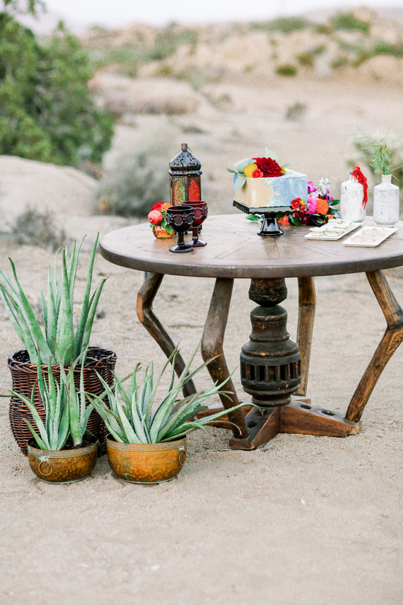 Joshua Tree micro wedding