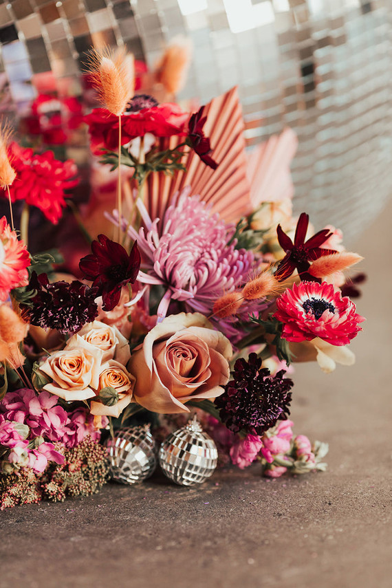 Galentine's Day party florals