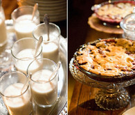 Milk and Pie Wedding Dessert
