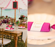 Whimsical Outdoor Wedding Tablescape