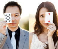 Playing Cards Inspired Engagement Shoot