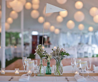 Elegant Outdoor Wedding Tablescape