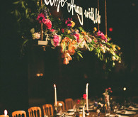 Vintage Travel Inspired Reception Decor