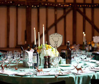 Woodsy English Tablescape