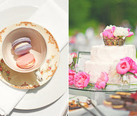 Tea Party Wedding Desserts