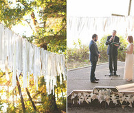 Camping Inspired Ceremony Decor