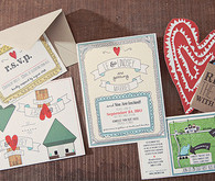 Adorable DIY Wedding Invitation