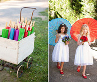 Parasol Flower Girls