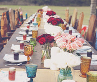 Bohemian Country Tablescape