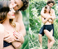 Tropical engagement shoot