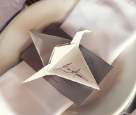 Origami Place Setting