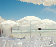 Destination Beach Wedding Ceremony Decor