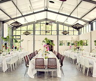 Greenhouse Wedding Reception