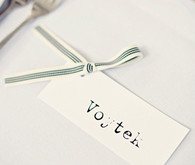 Type Print Placecards