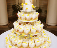 Lemon Meringue Cupcake Tower