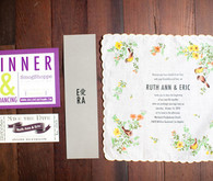 Handkerchief Invitation Design