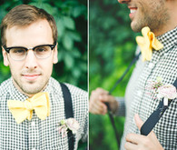 Yellow bow-tie
