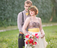 Modern vintage wedding inspiration