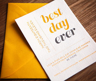 Best Day Ever Invitations