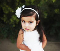 Flower Girl in All White