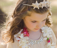Hawaiian Wedding Flower Girl and Ring Bearer