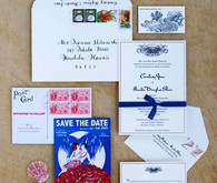 Hawaiian Destination Wedding Invitation