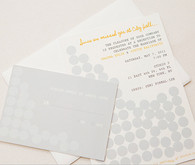 Modern Circles Wedding Invitation