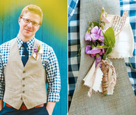 Rustic Wedding Groom Attire