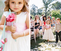 Flower Girl with Amy Osaba flowers