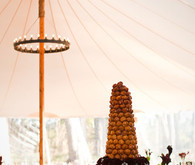 Tent and reception decor