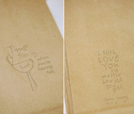 Brown paper bag reception favors